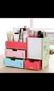 Cosmetics Wooden Cabinet