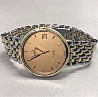 Omega Devile dress watch quartz