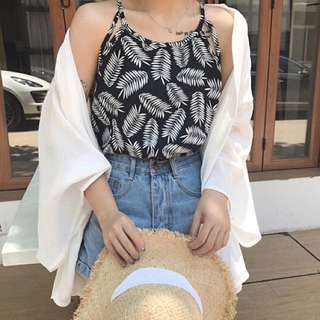Summer sleeveless top