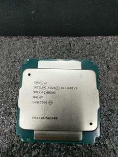 Intel_Xeon E5-2683V3 CPU14核心28線程 正式版 (E5-2683 V3 2683 e5)