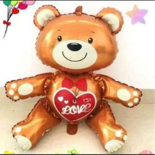 Teddy Bear Balloon Foil