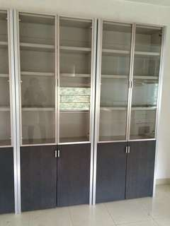 2 sets of bookcases used -FREE