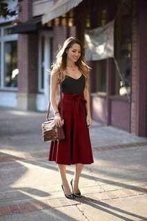 Sleeveless Terno Skirt