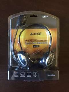 A4Tech HS-5P 97dB Multimedia Stereo Headset with Microphone