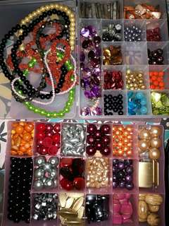 Assorted Beads for Accessories