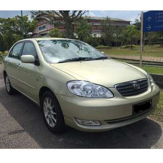 Toyota Corolla Altis 1.8 (A) 2015 NEW PAINT+WAX COATING+MULTIMEDIA SYSTEM