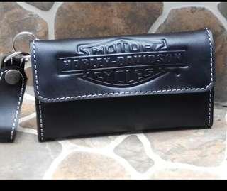 Dompet harley kulit asli/ dompet kulit asli