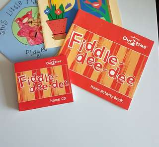 Kindermusik materials (home activity book & home CD only) - Fiddle dee-dee