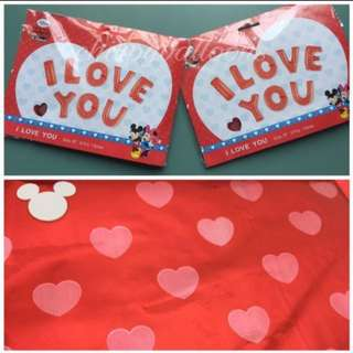 I LOVE YOU Set Foil Balloons - 40cm