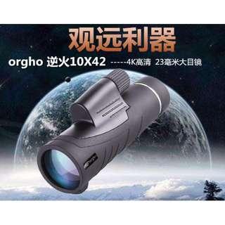 🚚 高清高倍微光夜視廣角手機支架戶外單筒望遠鏡