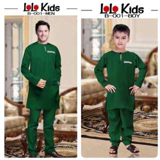 SET KURTA DAD & KIDS