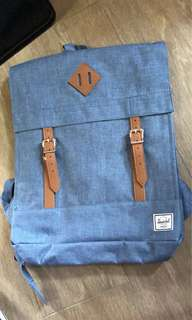 Herschel blue backpack