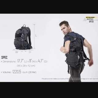Nitecore BP20 Multi-Purpose Outdoor Backpack