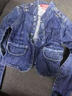 Kids of bayo denim jacket