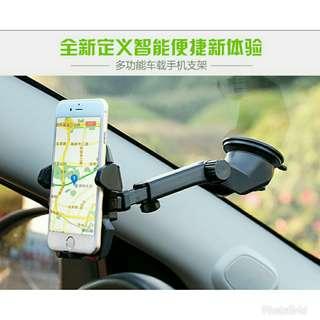前擋風玻璃汽車電話手機支架  不摭擋視線