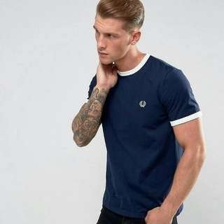 Fred Perry Sports Authentic Ringer Tee