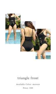 Triangle Front Swimsuit