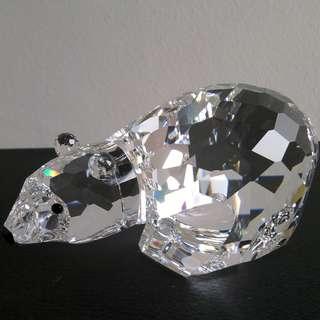 76 Swarovski Crystal - Large Polar Bear