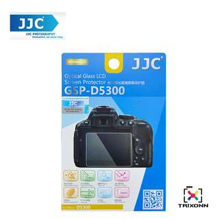 JJC GSP-D5300 Tempered Optical Glass Camera Screen Protector Hardness For Nikon D5300 D5200 D3200 D3300