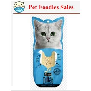 [ PET FOODIES ] KITCAT FILLET 30G AS LOW AS $2