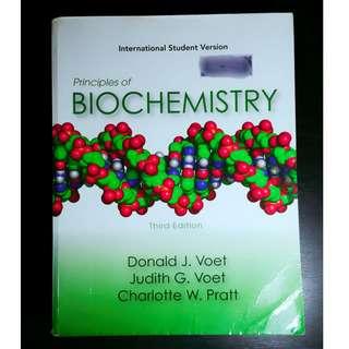 BIOCHEMISTRY Book (Voet)