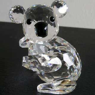 77 Swarovski Crystal - Large Koala (Signed)