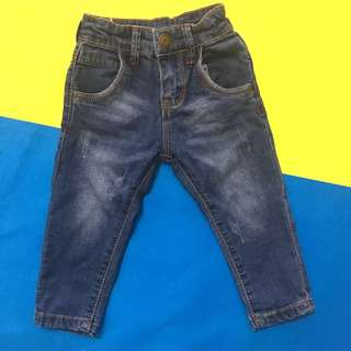 faded jeans for kids size S