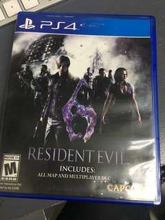 Ps4 game re6
