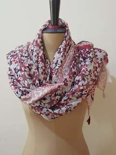 Riana scarf pink