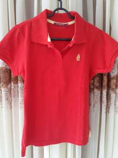 Hush Puppies Red Polo
