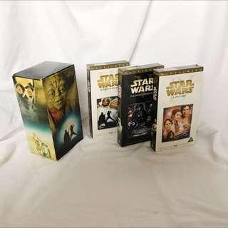 Original StarWars DVD Trilogy