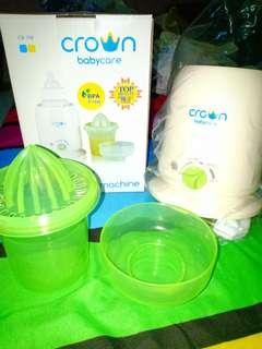 Sterilizer / penghangat botol susu bayi