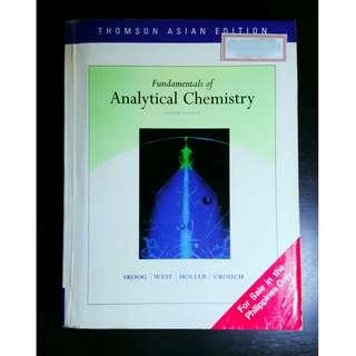ANALYTICAL Chemistry Book (Skoog et al)