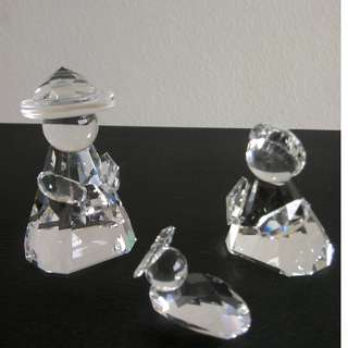 79 Swarovski Crystal - Holy Family