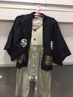 Japanese Outfit for 1  - 1.5yrs old (price reduced)