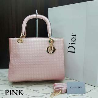 Lady Dior Cannage Dusty Pink Color
