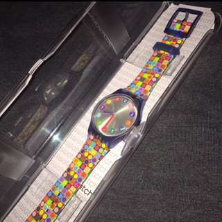 Authentic Swatch Water Resistant