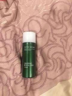 Nature Republic Ginseng Royal Silk Toner (Travel size)