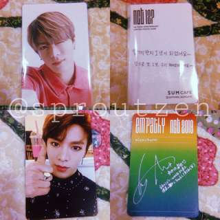 NCT Yuta photocards/ album