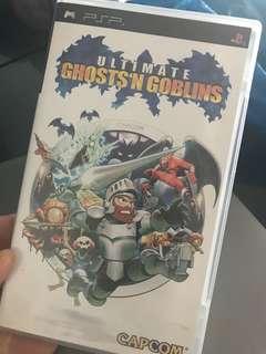 Psp ghosts n goblins