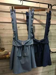 可愛吊帶裙