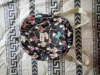 Medium size ballerina pattern backpack