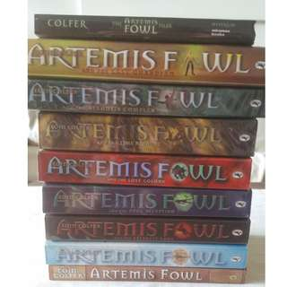 The Artemis Fowl Series by Eoin Colfer