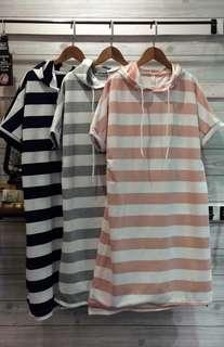 線條休閒洋裝