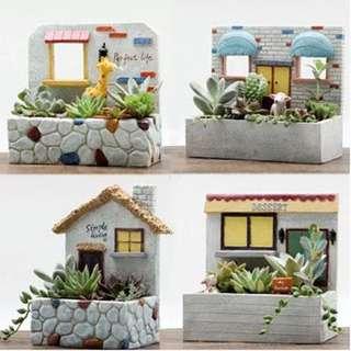 European creative cute plants box-succulents