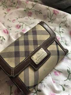 Burberry Wallet 短銀包 銀包 有散子位 真品
