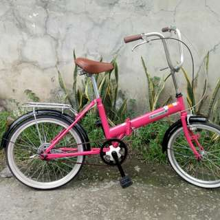 Pink Easy Rider folding bike FREEDELIVERY