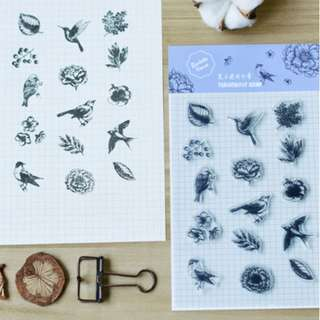 [Pre-Order] Scrapbooking Stamps (Various Designs)