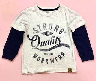 2pcs CottonOn & 1 Carters t-shirt