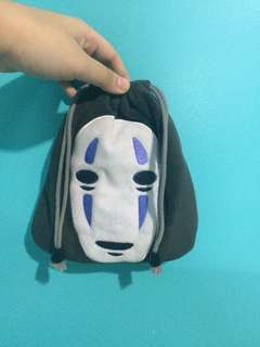 Spirited Away: No-Face pouch